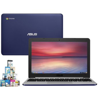 "ASUS 11.6"" Chromebook - Quad-Core 4GB RAM, 16GBeMMc & Softwar - E290050"