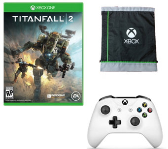 Xbox One Wireless Controller with Titanfall 2 &Bag - E290350