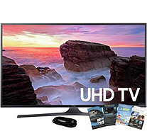"Samsung 40"" 4K Smart Ultra HDTV with HDMI Cableand App Pack - E291250"