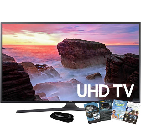 "Samsung 40"" 4K Smart Ultra HDTV with HDMI Cableand App Pack"