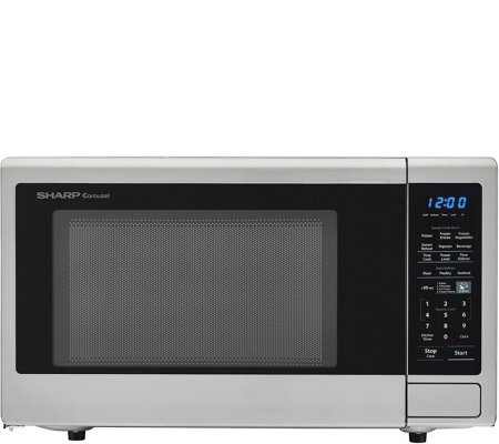 Sharp Carousel 1.4 Cubic Foot 1000W Microwave Oven