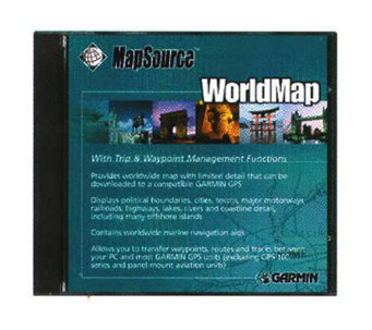 Garmin 10215-01 MapSource WorldMap CD-ROM - E100751