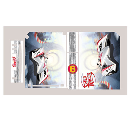 Gamer Graffix Speed Racer Mach 6 Skin - Wii