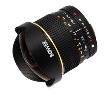 Bower 8mm F3.5 Ultra-Wide Fisheye Lens for Nikon - E209951