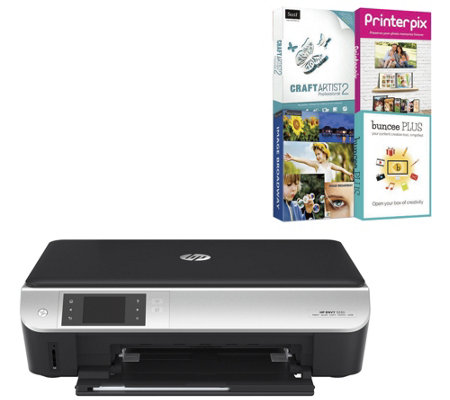 HP Envy 5535 All-in-One Printer Scanner Copier w/ USB Cable &Software
