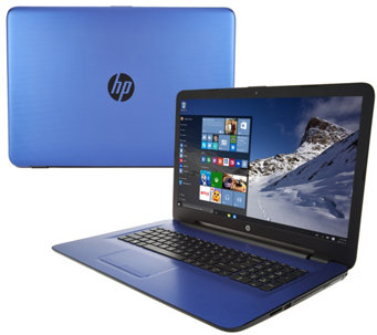HP 17 Laptop AMD A12 Quad, 12GB RAM, 2TB, w/ McAfee/Tech &Extend Battery - E229951