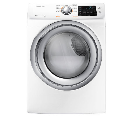 Samsung 7.5 Cu. Ft. Front Load Electric Dryer -White