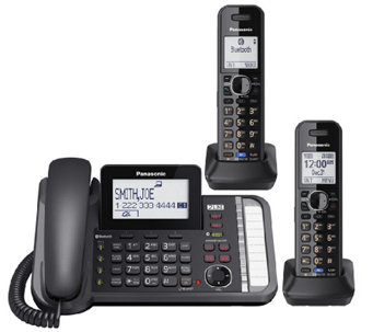 Panasonic Two-Line Telephone System with Two Handsets - E283351