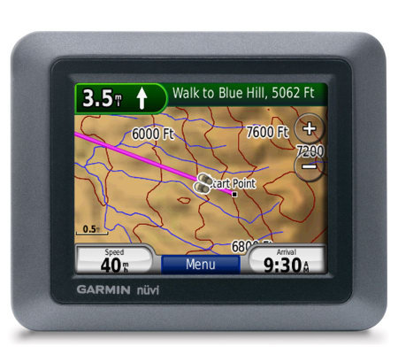"Garmin Nuvi 550 Waterproof 3.5"" GPS NavigationSystem"