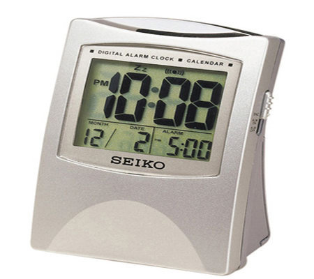 Seiko Bedside Alarm Clock with Snooze