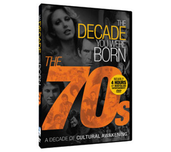 The Decade You Were Born - 1970s DVD - E264952