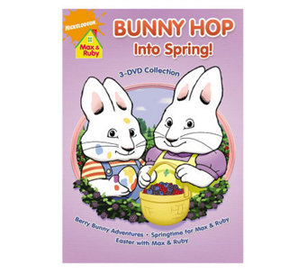 Max & Ruby: Bunny Hop into Spring 3-Disc DVD Set - E268052