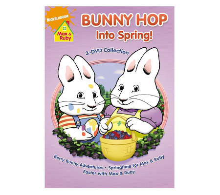 Max & Ruby: Bunny Hop into Spring 3-Disc DVD Set