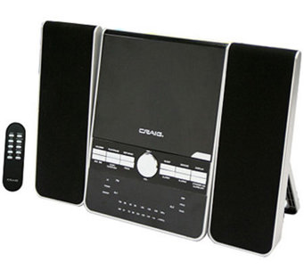 Craig 3-Piece CD Shelf System with Alarm ClockAM/FM Radio - E272552