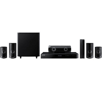 Samsung Smart Home Theater System with 3D Blu-ray & Wi-Fi - E282752