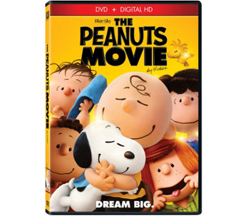 The Peanuts Movie DVD - E287952