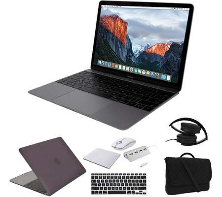 "Apple MacBook 12"" i5, 8GB, 512GB & Accessories- Space Gray"