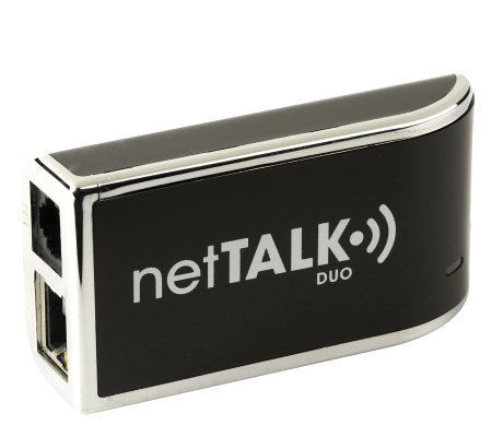 netTalk DUO Device with VoIP Telephone Service