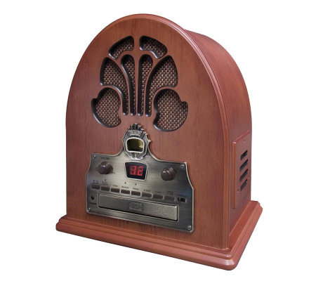 Crosley Cathedral Radio CD Player