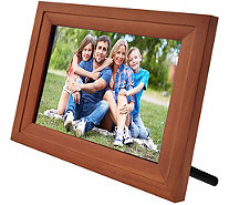 "Wifi 7"" Touchscreen Picture Frame w/ App, Pair up to 7 Devices - E231153"