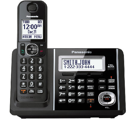 Panasonic Cordless Answering System with One Handset