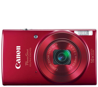 Canon PowerShot ELPH 190 IS Digital Camera - E288453