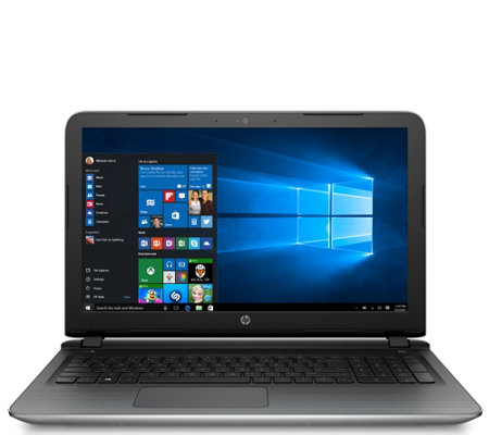 "HP Pavilion 15"" Laptop - AMD A10, 8GB RAM, 1TBHDD w/ Software"