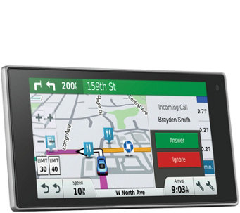 "Garmin 5"" DriveLuxe GPS with Free Lifetime Maps& Traffic - E289453"