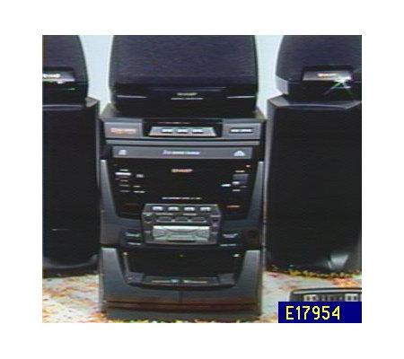 Sharp 70 Watt Dolby Pro Logic Shelf System