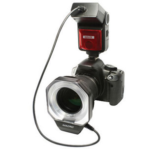 Bower Macro Flash compatible for Canon DigitalSLR E-TTL I/II - E206854