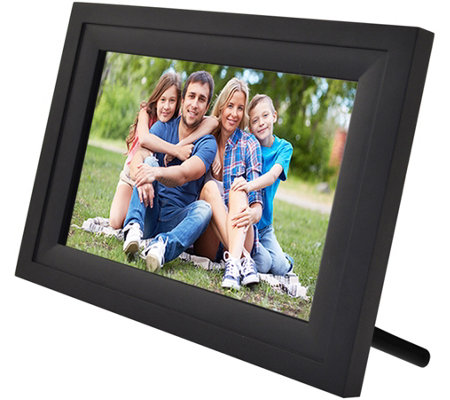 "Wifi 10"" Touchscreen Picture Frame w/ App, Pair up to 7 Devices"