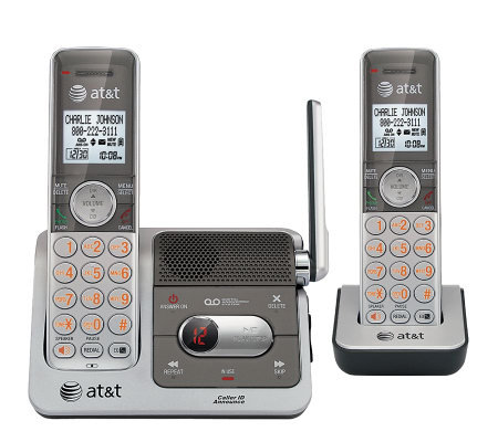 AT&T DECT 6.0 Digital Dual Handset Answering System