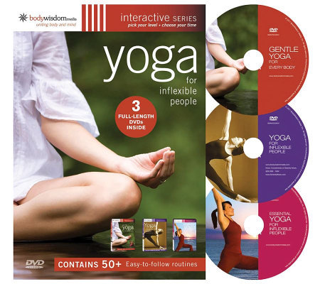 Yoga for Inflexible People - 3 Disc Set