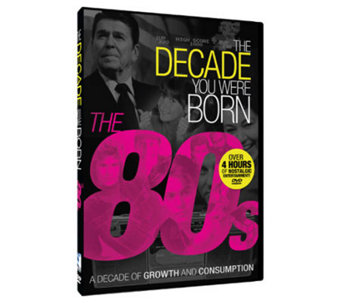 The Decade You Were Born - 1980s DVD - E264954