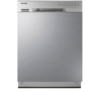 "Samsung 24"" Stainless Steel Dishwasher with Adjustable Rack - E285854"