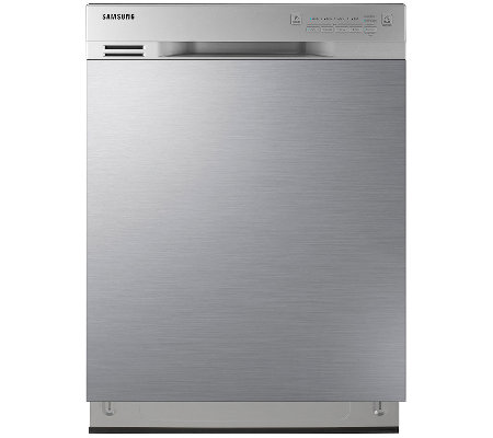 "Samsung 24"" Stainless Steel Dishwasher with Adjustable Rack"