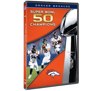 Denver Broncos Super Bowl 50 Champions DVD - E287554