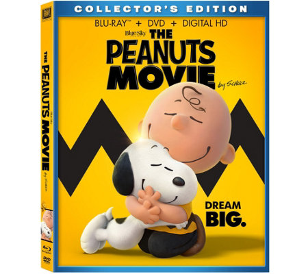 The Peanuts Movie Blu-Ray/DVD