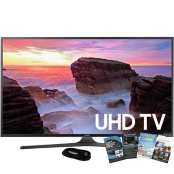 Samsung 43 LED HDR Pro Smart Ultra HDTV with HDMI & App Pack