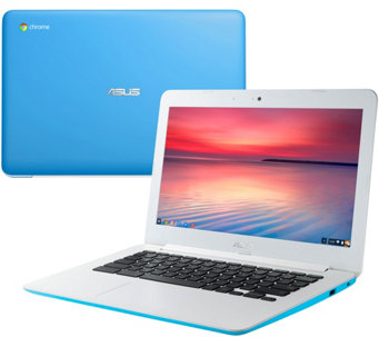"ASUS 13.3"" Chromebook Intel 4GB RAM 16GB with 2YR Warranty & App - E229655"