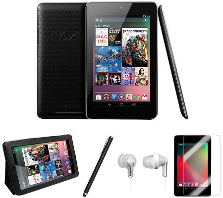 Google Nexus 7 16GB Android Tablet Bundle