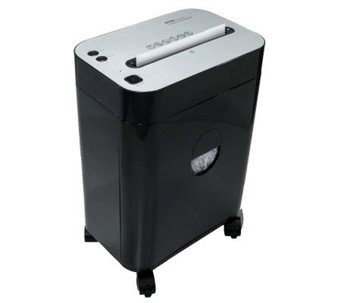 Royal Platinum Series 12-Sheet Cross-Cut Shredder with Basket - E267555