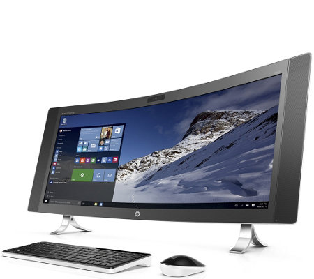 "HP 34"" Curved Envy All-in-One - Core i5, 12GB RAM, 1TB HDD"