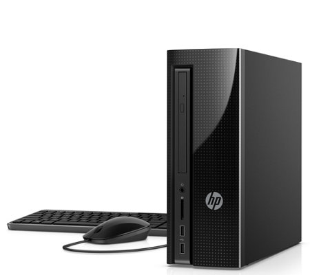 HP Slimline Desktop - AMD E2, 4GB RAM, 1TB HDD& Software