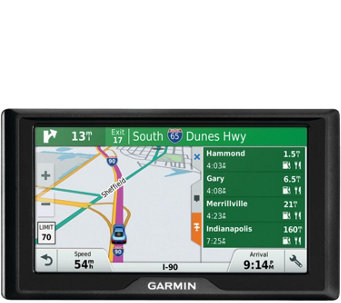 "Garmin 6"" Drive GPS with Free Lifetime Maps & Traffic - E289455"