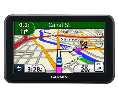 "Garmin nuvi 50LM 5"" GPS with Lifetime US and Canada Maps"
