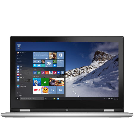 Dell 13 Windows 10 2-in-1 Laptop 4GB RAM, 500GB w/Lifetime Tech