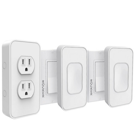 Instant Smart Home Starter Kit w/ 2 Smart Light Switches & Smart Outlet