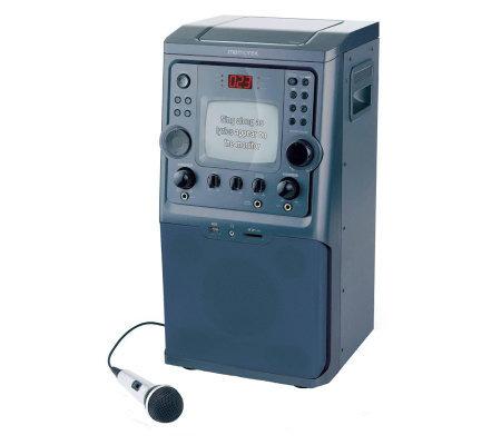 Memorex MKS8594 Karaoke System — QVC.com