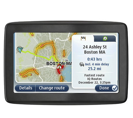 TomTom VIA 1505TM GPS with Speed Assist